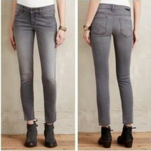 Level 99 Lily straight skinny leg jeans faded gray